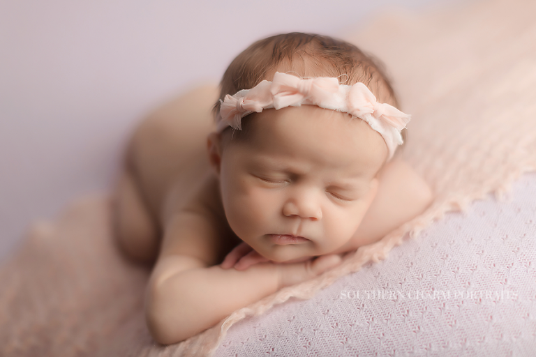 Emmalyn newborn photographer knoxville tn