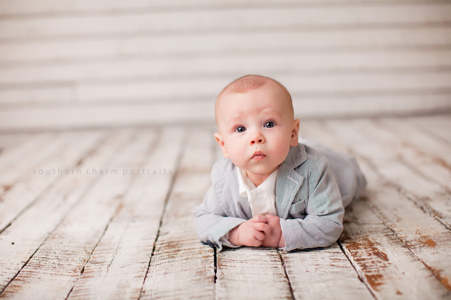 Townes 3 month session - East TN Baby Photographer